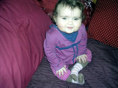 Jasmine in her stripes