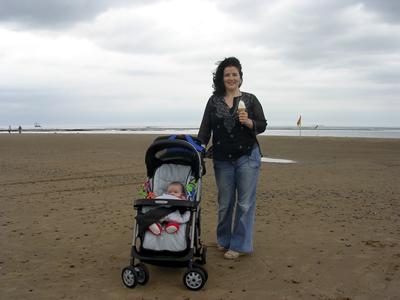 Jasmine on the beach