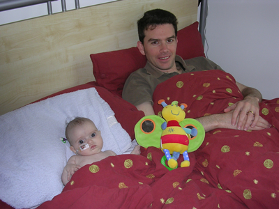 Jasmine and Neil in bed