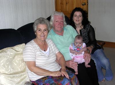Jasmine and her Grandparents